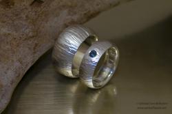 Crispico - Zilveren trouwringen